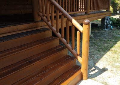 Matt Britt front handrails after